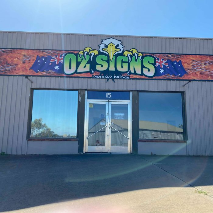 Oz Signs shop Front 2