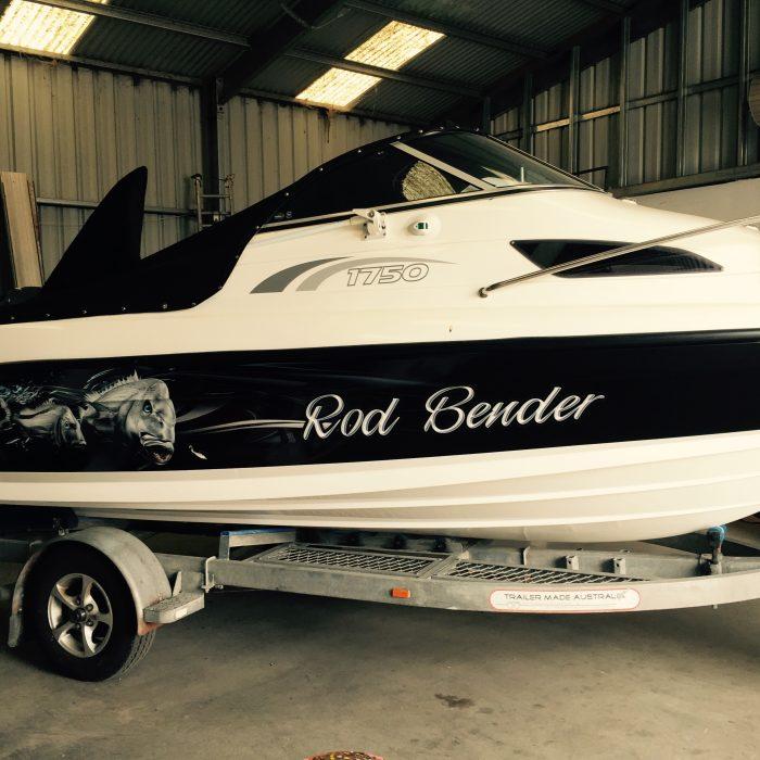 Rod Bender Boat