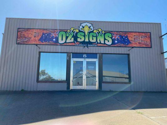 Oz Signs shop Front 2